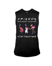 Friends Who Hockey Together Sleeveless Tee tile