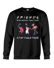 Friends Who Hockey Together Crewneck Sweatshirt thumbnail