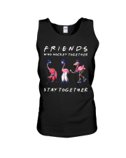 Friends Who Hockey Together Unisex Tank thumbnail
