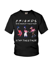 Friends Who Hockey Together Youth T-Shirt thumbnail