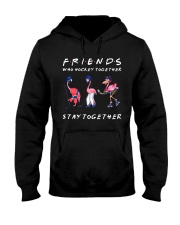 Friends Who Hockey Together Hooded Sweatshirt thumbnail