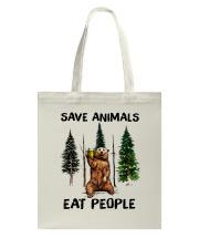 Save Animals Tote Bag thumbnail