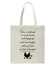 She Is Clothed In Much Books Tote Bag thumbnail