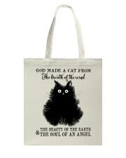 God Made A Cat Tote Bag thumbnail