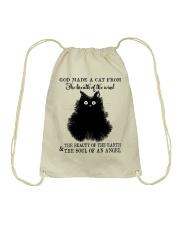God Made A Cat Drawstring Bag thumbnail