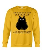 God Made A Cat Crewneck Sweatshirt front