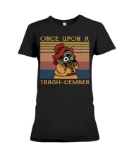 Once Upon A Trash Premium Fit Ladies Tee thumbnail