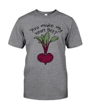 You Make My Heart Beet Classic T-Shirt front