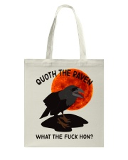 Quoth The Raven Tote Bag thumbnail