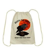 Quoth The Raven Drawstring Bag thumbnail