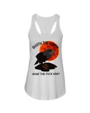 Quoth The Raven Ladies Flowy Tank thumbnail