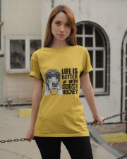 Dogs And Hockey Classic T-Shirt apparel-classic-tshirt-lifestyle-19