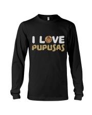 I Love Pupusas Long Sleeve Tee thumbnail