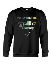 I Would Rather Be Camping Crewneck Sweatshirt thumbnail