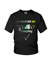 I Would Rather Be Camping Youth T-Shirt thumbnail
