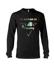 I Would Rather Be Camping Long Sleeve Tee thumbnail