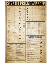 Pipefitter Knowledge 11x17 Poster front