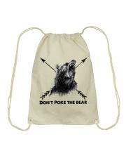 Dont Poke The Bear Drawstring Bag thumbnail