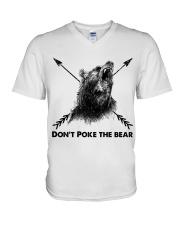 Dont Poke The Bear V-Neck T-Shirt thumbnail