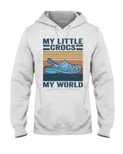 My Little Crocs My World Hooded Sweatshirt front