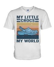 My Little Crocs My World V-Neck T-Shirt thumbnail