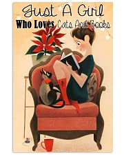 Loves Cats And Books 11x17 Poster front