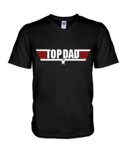 Top Dad V-Neck T-Shirt tile