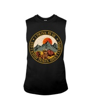 I Know Things About Camping Sleeveless Tee thumbnail