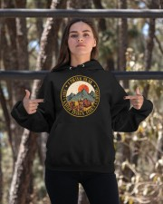 I Know Things About Camping Hooded Sweatshirt apparel-hooded-sweatshirt-lifestyle-05