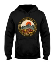 I Know Things About Camping Hooded Sweatshirt front