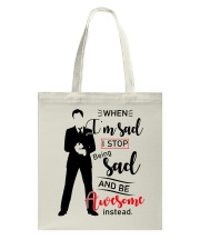 Be Awesome Instead Tote Bag thumbnail