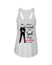 Be Awesome Instead Ladies Flowy Tank thumbnail