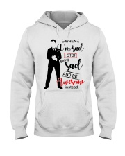 Be Awesome Instead Hooded Sweatshirt thumbnail