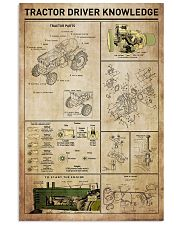 Tractor Driver Knowledge 11x17 Poster front