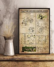 Tractor Driver Knowledge 11x17 Poster lifestyle-poster-3