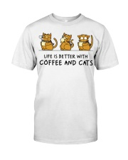 Coffee And Cats Classic T-Shirt thumbnail