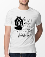 Assuming I'm Just An Old Lady Classic T-Shirt lifestyle-mens-crewneck-front-13