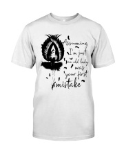 Assuming I'm Just An Old Lady Premium Fit Mens Tee thumbnail