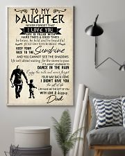 To My Daughter 11x17 Poster lifestyle-poster-1