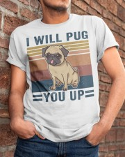 I Will Pug You Up Classic T-Shirt apparel-classic-tshirt-lifestyle-26