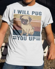 I Will Pug You Up Classic T-Shirt apparel-classic-tshirt-lifestyle-28