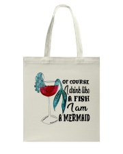 I Drink Like A Fish Tote Bag thumbnail