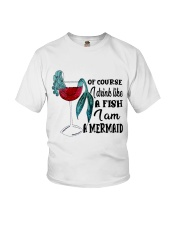 I Drink Like A Fish Youth T-Shirt thumbnail