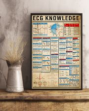ECG Knowledge 11x17 Poster lifestyle-poster-3