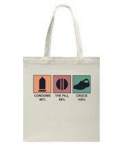The Pill And Crocs Tote Bag tile
