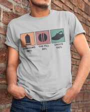 The Pill And Crocs Classic T-Shirt apparel-classic-tshirt-lifestyle-26