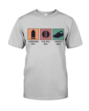 The Pill And Crocs Classic T-Shirt front