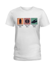 The Pill And Crocs Ladies T-Shirt tile