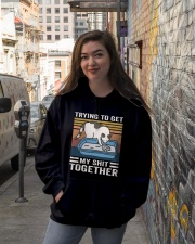 Trying To Get My Shit Together Hooded Sweatshirt lifestyle-unisex-hoodie-front-1