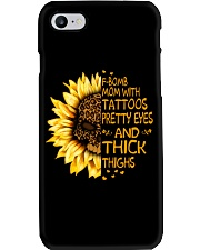 F Bomb Mom With Tattoos Phone Case thumbnail